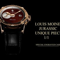 Louis Moinet Rose gold 43mmmm Automatic new