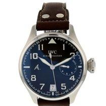 IWC Big Pilot tweedehands 46mm Bruin Chronograaf Datum Leer