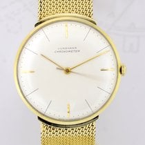 Junghans Yellow gold 34mm Manual winding Chronometer Gold pre-owned