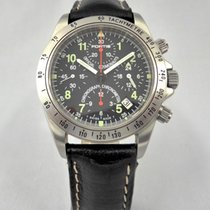 Fortis Chronograph 39mm Automatic pre-owned Black