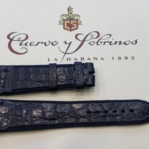 Cuervo y Sobrinos Parts/Accessories new Crocodile skin Blue