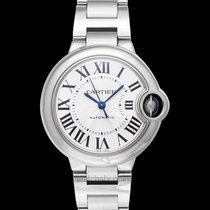 Cartier Ballon Bleu 33mm Steel