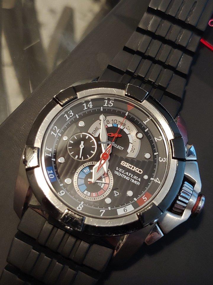 ad2b566e25b Vendesi Seiko Velatura Yachting Timer Chronograph per 316 € da un Venditore  privato su Chrono24