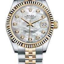 Rolex Datejust Rolex 278273 Datejust 31mm Two-tone White mop Diamond Dial 2020 new