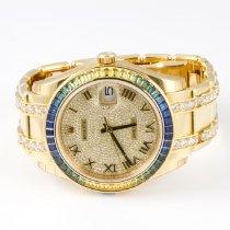 Rolex Pearlmaster Yellow gold 39mm Arabic numerals United Kingdom, London