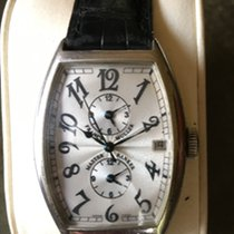 Franck Muller Platinum Automatic Arabic numerals 32mm pre-owned Master Banker
