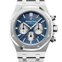 Audemars Piguet Royal Oak Chronograph Stahl 41mm Blau Keine Ziffern Schweiz, Wollerau