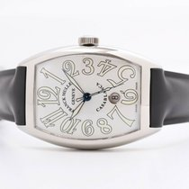 Franck Muller pre-owned Automatic 39mm Silver Sapphire Glass Not water resistant