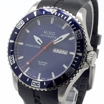 Mido Steel 42,5mm Automatic Mido Ocean Star Captain pre-owned