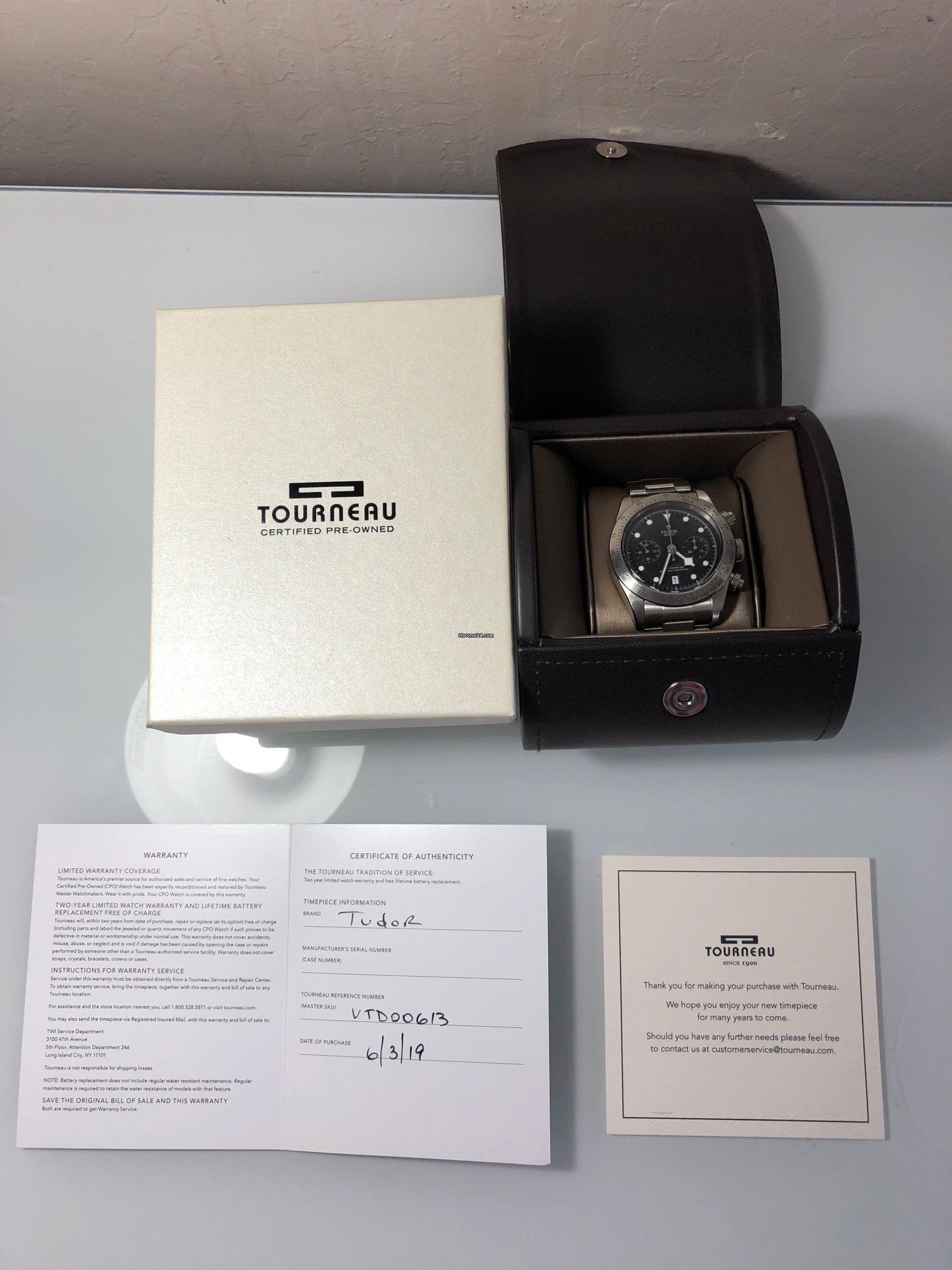 Nearest Battery Store >> Tudor Black Bay Chrono For Rp 47 586 828 For Sale From A