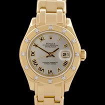 Rolex Lady-Datejust Pearlmaster 80318 2002 usados