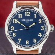 Patek Philippe Calatrava Steel 42mm Blue Arabic numerals United States of America, Massachusetts, Boston