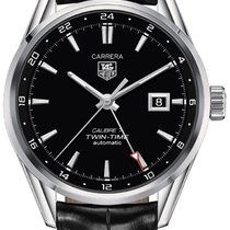 TAG Heuer Carrera Calibre 7 Steel 41mm Black United States of America, California, Moorpark