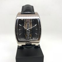 Corum Golden Bridge 313.150.59/0001 FK01 Ny Hvitt gull 51.8mm Automatisk