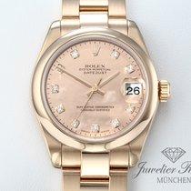 Rolex Datejust Ροζέ χρυσό 31mm Χρυσό Xωρίς ψηφία