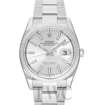 Rolex Datejust new Automatic Watch with original box and original papers 126234 Sliver Oyster