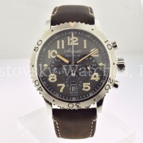 Breguet Type XX - XXI - XXII Steel 42mm Grey Arabic numerals