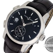 Ulysse Nardin Dual Time Steel 42mm Black No numerals United States of America, Pennsylvania, Willow Grove