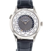 Patek Philippe World Time White gold 38.5mm Grey United States of America, Georgia, Atlanta