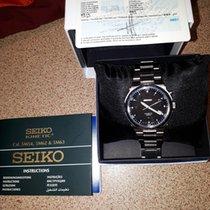 Seiko Kinetic Steel Black