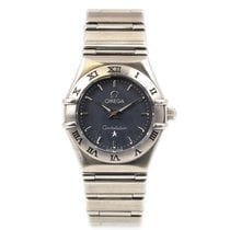 Omega Constellation Quartz Acier 22.5mm Gris Romain