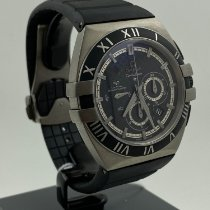 Omega Constellation Double Eagle Titanium 41mm Black No numerals