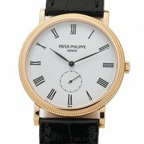 Patek Philippe Calatrava Rose gold 36mm White Roman numerals United States of America, New York, New York