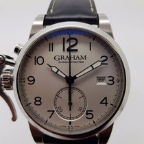 Graham Chronofighter 1695 Automatic Chronograph Silver Dial