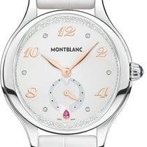 Montblanc Princess Grace De Monaco Stål 34mm Hvit Arabisk