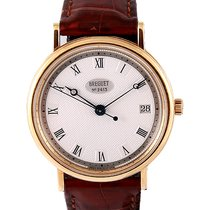 Breguet 34mm Automatic pre-owned Classique Silver