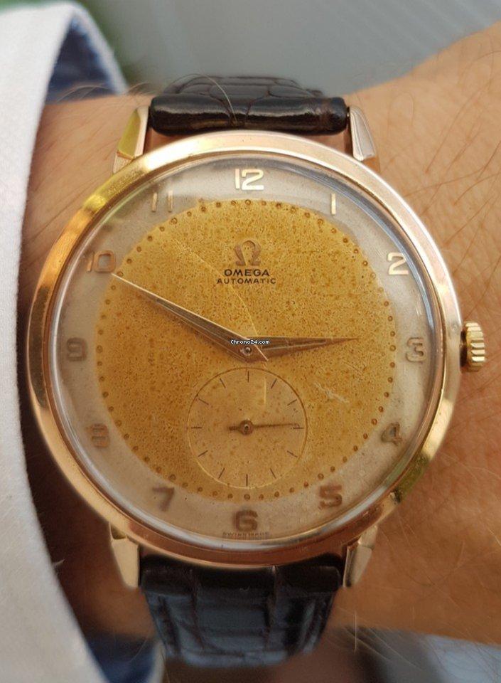 05eb00430 344 Automatic Vintage Oversize (ref. 2714) 18K Gold za 2,399 € k prodeji od  Soukromý prodejce na Chrono24