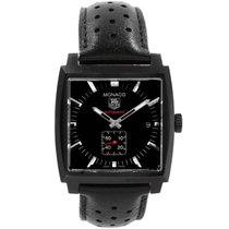 TAG Heuer Monaco Calibre 6 37mm Black