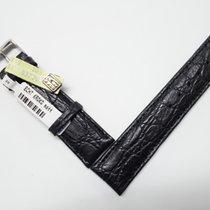 Echt Krokodil Lederband, Marke Herzog new