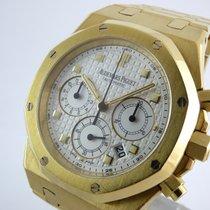 Audemars Piguet Royal Oak Chronograph gebraucht 39mm Chronograph Datum Gelbgold