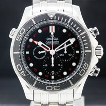 Omega Steel Automatic Arabic numerals 44mm pre-owned Seamaster Diver 300 M