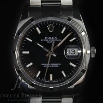 Rolex 115210 Steel 2007 Oyster Perpetual Date 34mm pre-owned