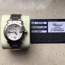 Chopard Happy Sport Staal 36mm Wit Romeins Nederland, Koekange