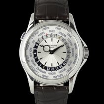 Patek Philippe World Time White gold 40mm Silver