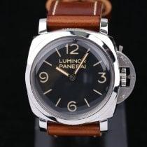 Panerai Luminor 1950 neu 2011 Handaufzug Uhr mit Original-Box und Original-Papieren PAM 00372