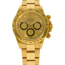 Rolex 16528 Yellow gold 1991 Daytona 40mm pre-owned