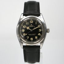 Rolex Oyster Perpetual 34 Steel 34mm Black Arabic numerals
