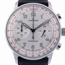 Junghans Meister Telemeter new Automatic Chronograph Watch with original box and original papers 027/3380.00