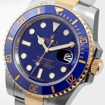 Rolex 18K/SS Ceramic Blue Submariner - Unworn - 116613 model