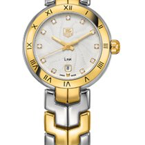 TAG Heuer Link Lady WAT1450.BB0955 - TAGHEUER DIAMOND DIAL AND GOLD DETAILS nuevo
