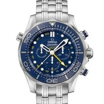 Ωμέγα (Omega) Seamaster Diver 300 M Co-Axial GMT Chrono...