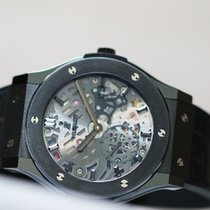 Hublot CLASSIC FUSION ULTRA-THIN SKELETON ALL BLACK 10000ht