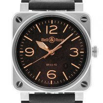 Bell & Ross BR 03-92 Steel BR0392-ST-6-HE/SCA new