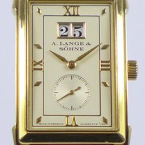 A. Lange & Söhne Yellow gold Manual winding pre-owned Cabaret