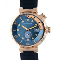 Louis Vuitton Tambour Diver Q103e Rose Gold 44mm