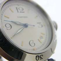 Cartier 38mm Remontage automatique occasion Pasha (Submodel) Blanc